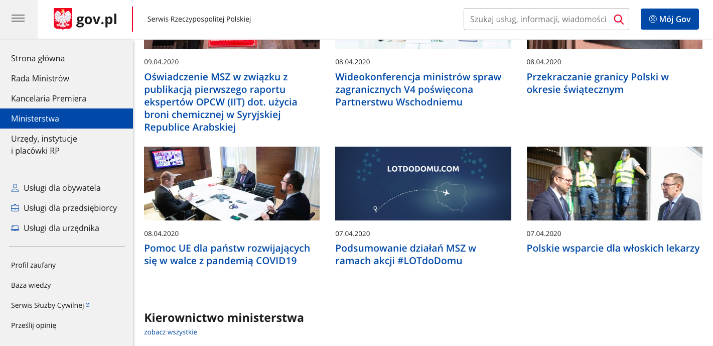Web Content Accessibility Guidelines (WCAG) 2.1 na poziomie AA